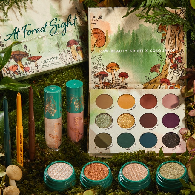 Raw Beauty Kristi makeup collection for ColourPop