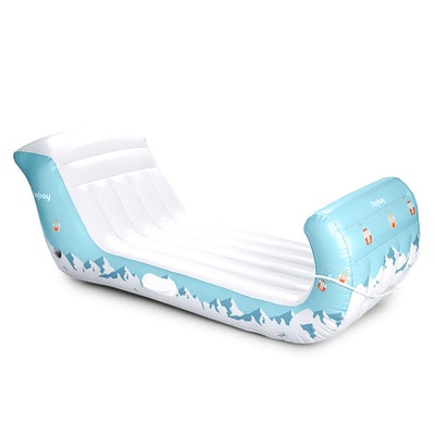 Inflatable Winter Sleigh Snow Sled