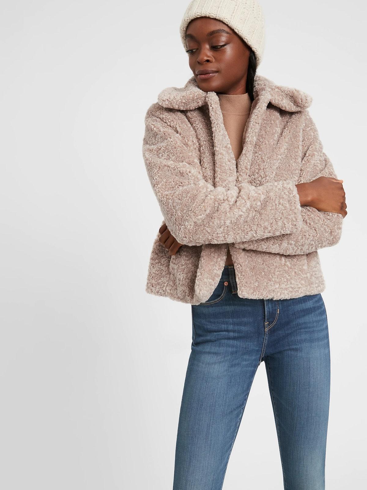 Sherpa Short Coat