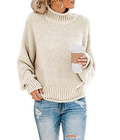 Saodimallsu Chunky Knit Sweater