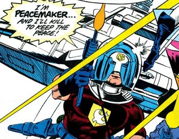 peacemaker comic book hbo max series