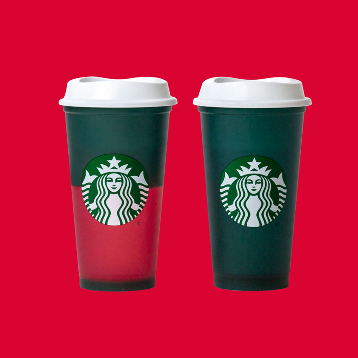 Starbucks is rolling out two color-changing hot cup designs.