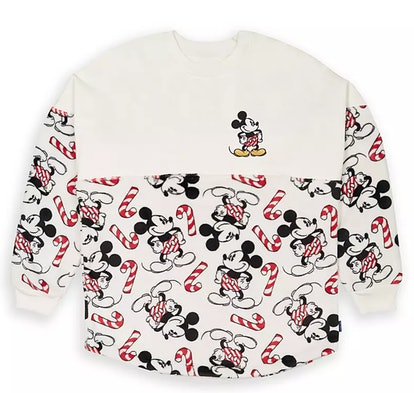 Mickey Mouse ''Holiday Cheer'' Spirit Jersey for Adults