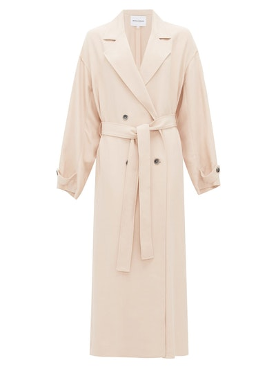 The Jany double-breasted belted trench coat