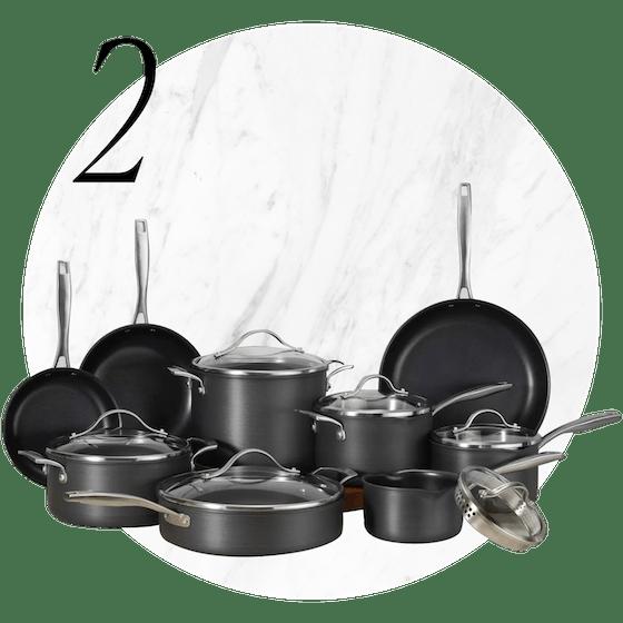 Member's Mark™ 15-Piece Hard Anodized Aluminum Cookware Set