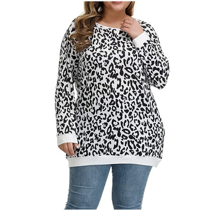 Allegrace Plus Size Soft Knit Tunic