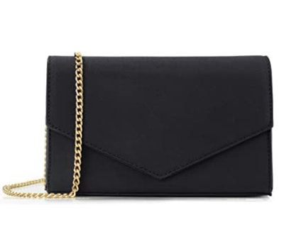 Hoxis Minimalist Faux Leather Clutch