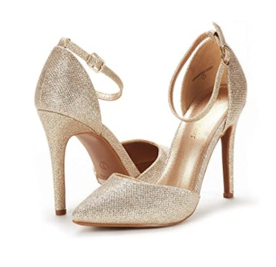DREAM PAIRS Oppointed-Lacey Pumps
