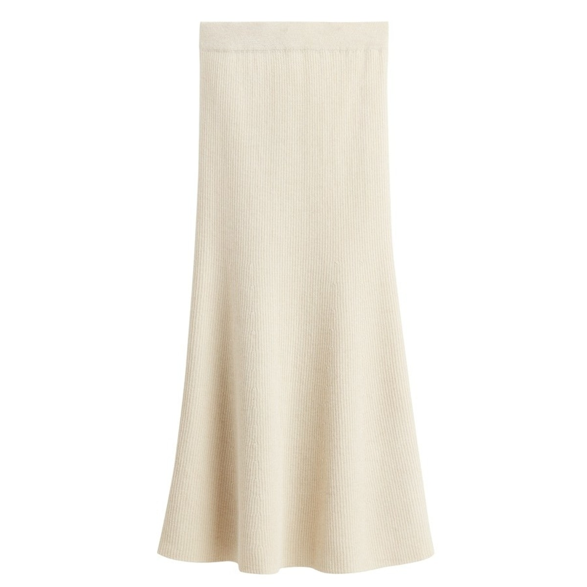 Alpaca Fit-And-Flare-Skirt