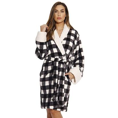 Just Love Sherpa Plush Robe