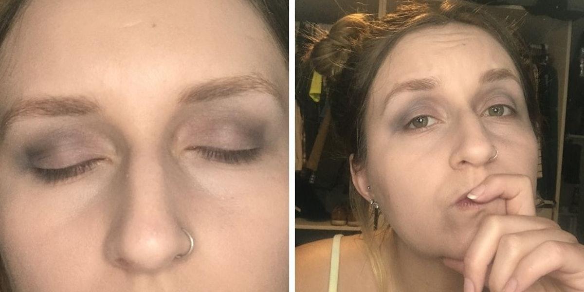Rachel Varina Tried Megan Thee Stallion's Cut Crease Makeup Tutorial for Elite Daily