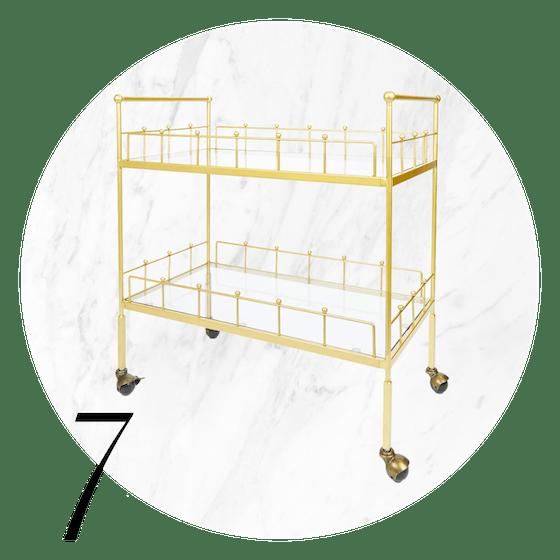 Fitz Bar Cart