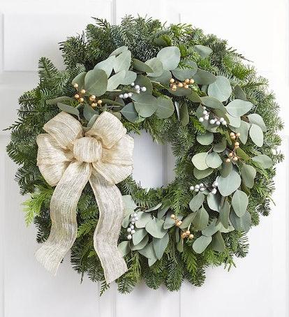Winter Elegance Wreath