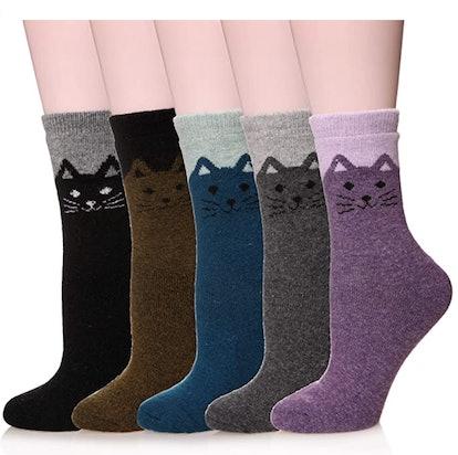 Velice Wool Socks (5-Pack)