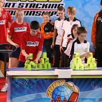 The quirky sport of cup stacking is surprisingly intense