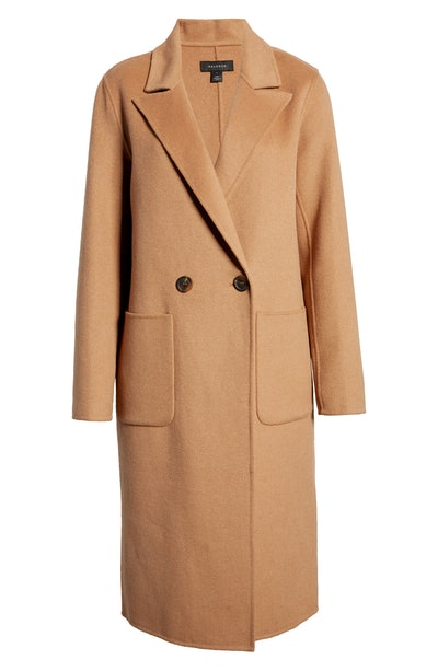 Halogen Double Face Wool Coat