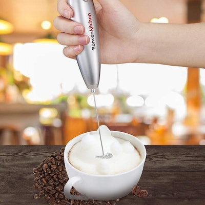 Bonsenkitchen Electric Milk Frother