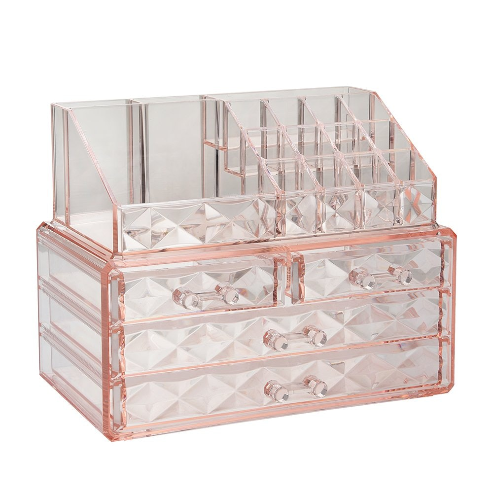 Cosmetic Boxes with Brush Holder