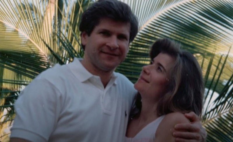 Jeffrey and Barbara Hamburg in 'Murder on Middle Beach.'