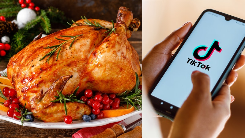 No-baste turkey and other thanksgiving turkey tips and hacks from TikTok.