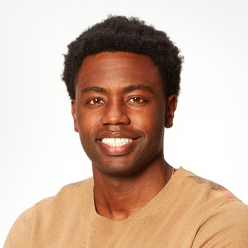 Montel Hill is one of Tayshia Adams' new contestants on 'The Bachelorette.'