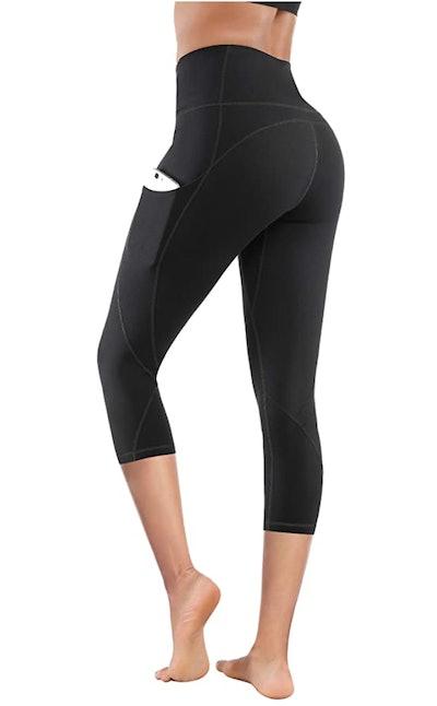 Lingswallow Cropped Yoga Pants