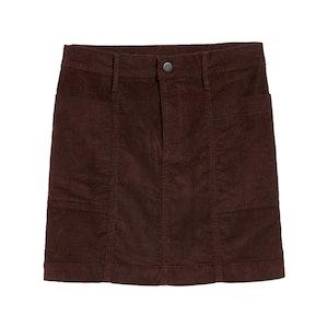 High-Waisted Corduroy Utility Pencil Skirt