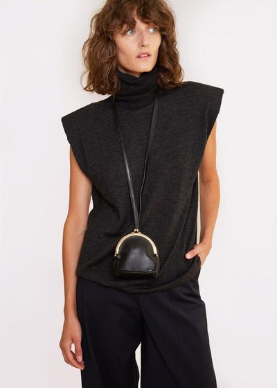 Loop Strap Oversized Coin Bag