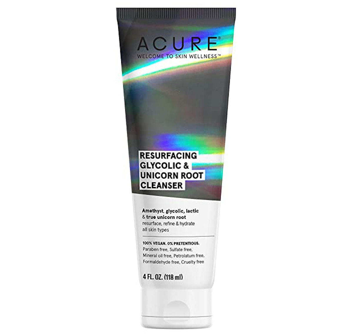 ACURE Resurfacing Glycolic + Unicorn Root Cleanser