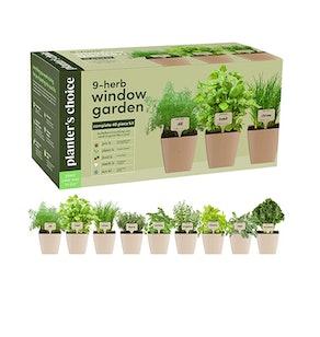 Planters' Choice Indoor Organic Herb-Growing Kit