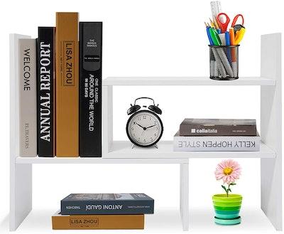 Hossejoy Adjustable Desktop Shelves