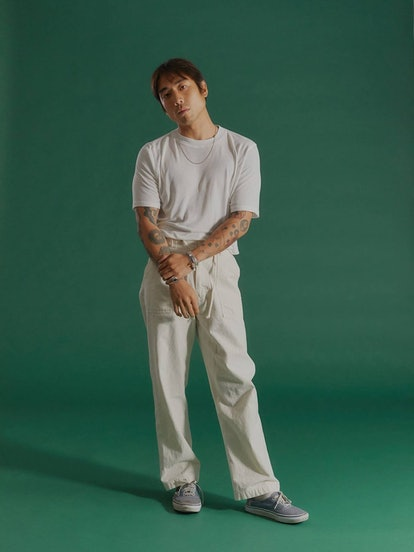 Ijji Canvas Work Pants