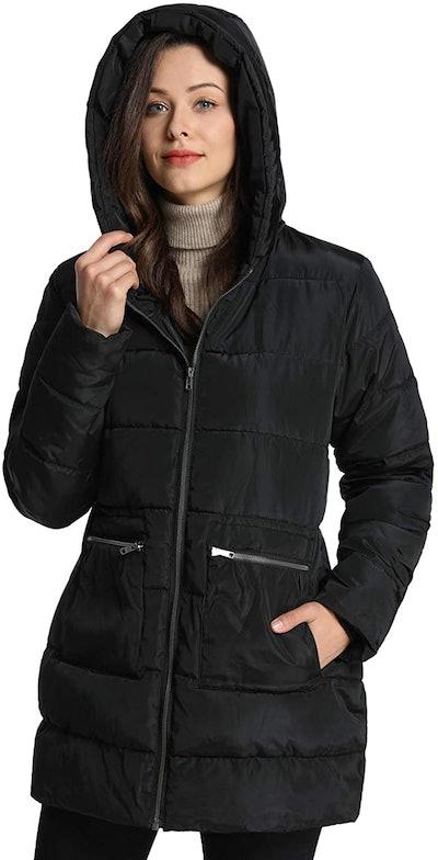 iLoveSIA Women's Down Alternative Puffer Coat