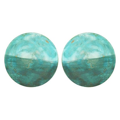 Teal Mochi Earrings