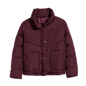 Quilted Utility Puffer Jacket