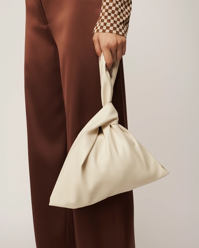 Jen Vegan Leather Clutch