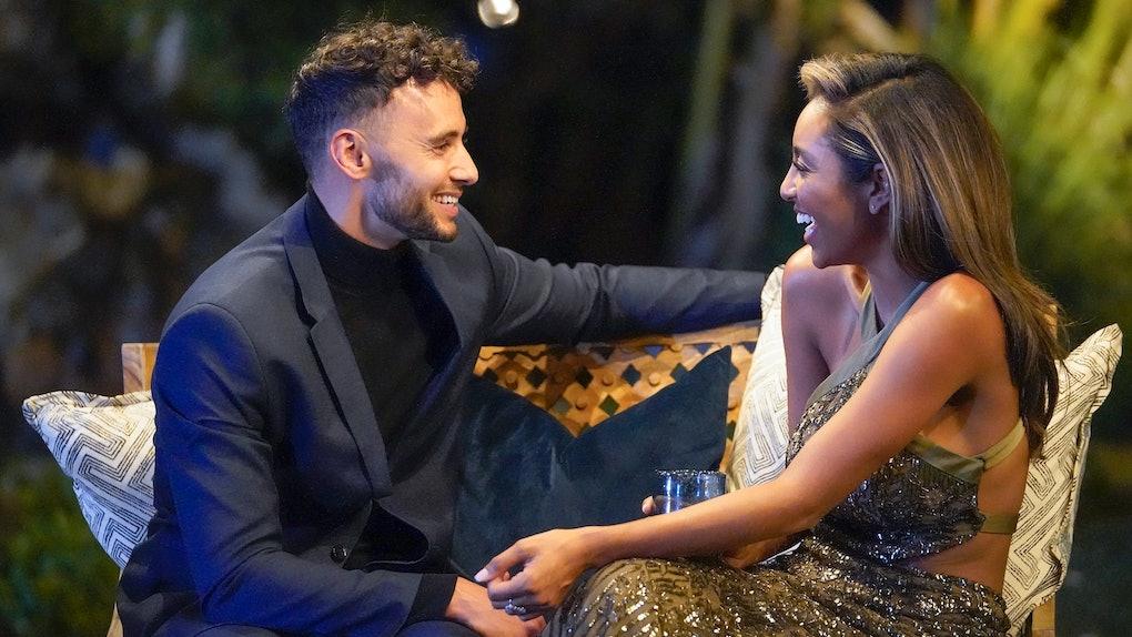 Brendan and Tayshia on 'The Bachelorette'
