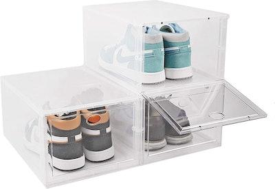 BYFU Shoe Storage Boxes (3-Pack)