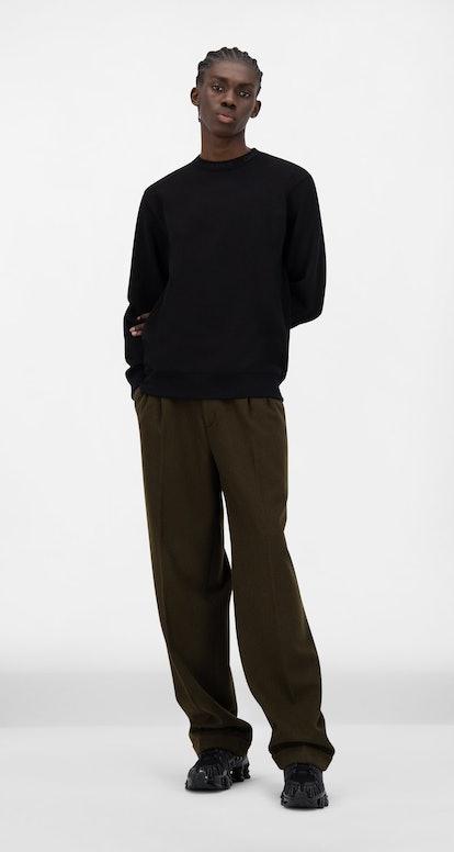 Daily Paper Black Derib Sweater