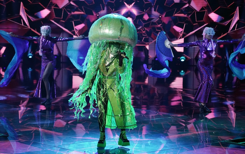 Jellyfish in 'The Masked Singer,' via FOX press site.