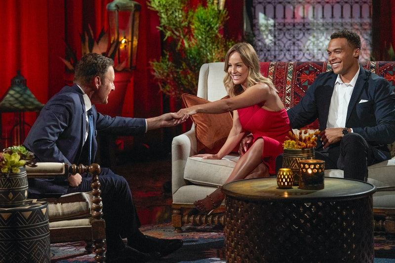 Clare Crawley and Dale Moss give a final interview on 'The Bachelorette.'