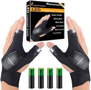 Vornennen LED Flashlight Gloves