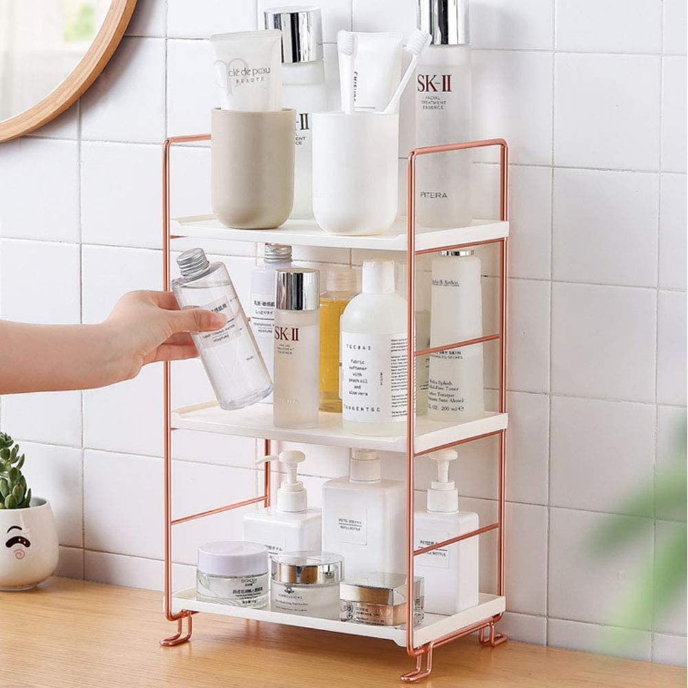 Freestanding Stackable Organizer Shelf