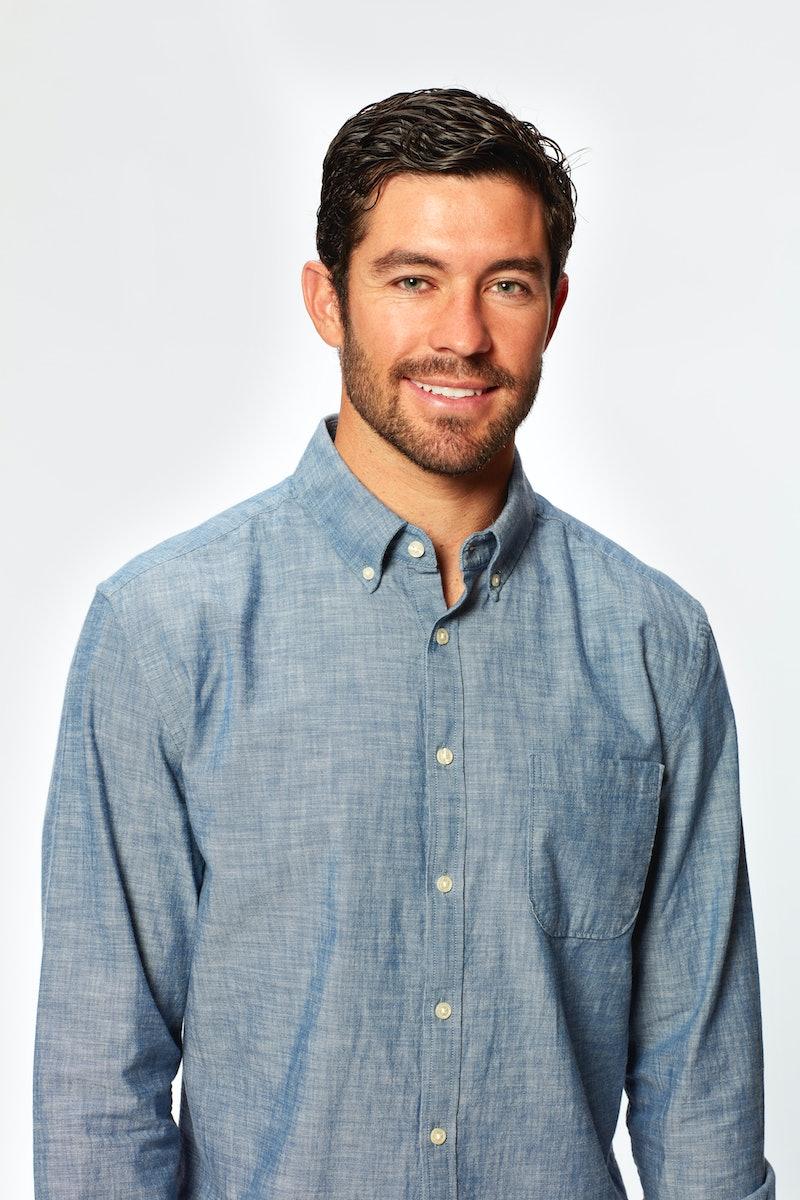 'Bachelorette' contestant Spencer Robertson via the ABC press site
