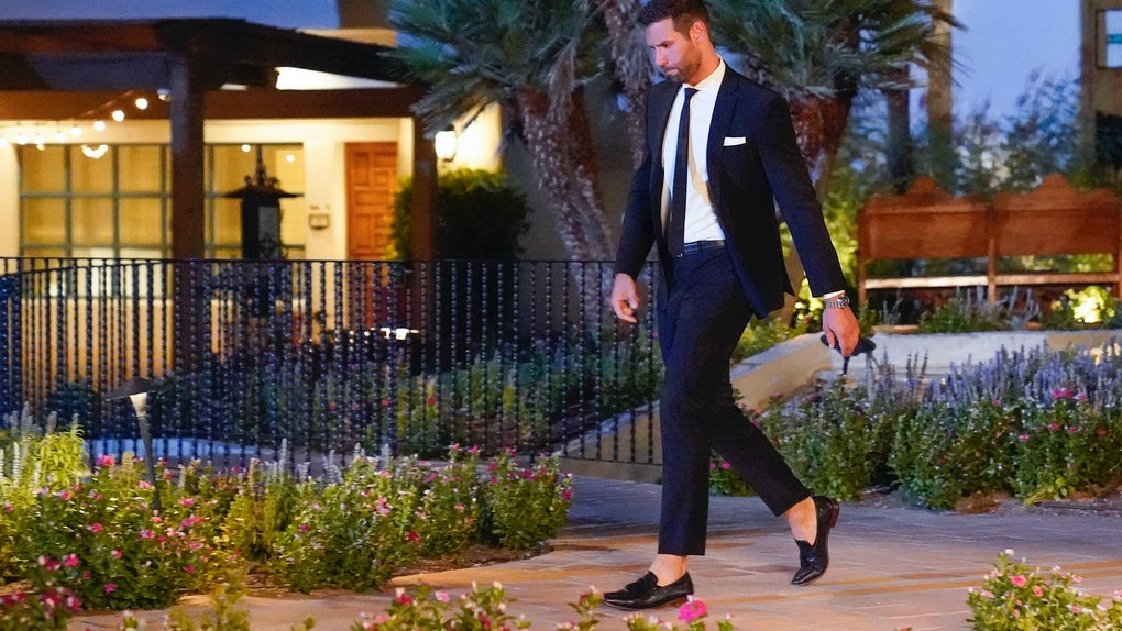 Jason leaving 'The Bachelorette'