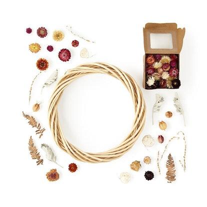 Dried Flower Wreath DIY Kit