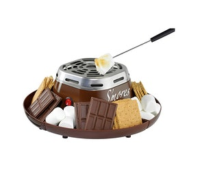 Nostalgia Electric Stainless Steel S'mores Maker