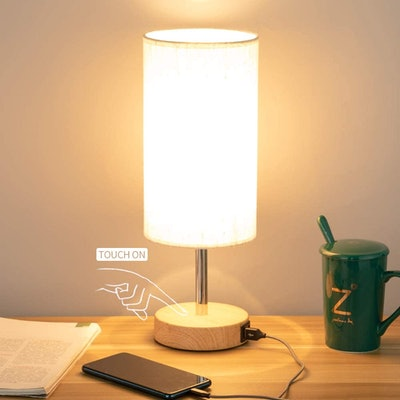 Yarra-Decor Touch Lamp with USB Port