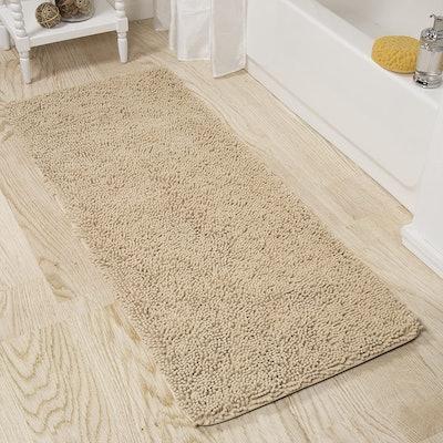 Lavish Home Memory Foam Shag Bath Mat