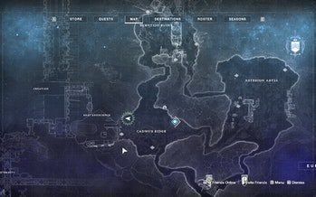 destiny 2 beyond light europa cadmus ridge